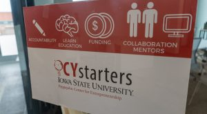 CYstarters sign